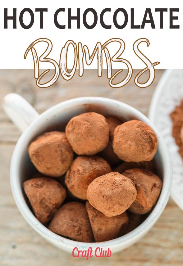 Hot Chocolate Bombs Homemade Hot Chocolate Chocolate Bomb
