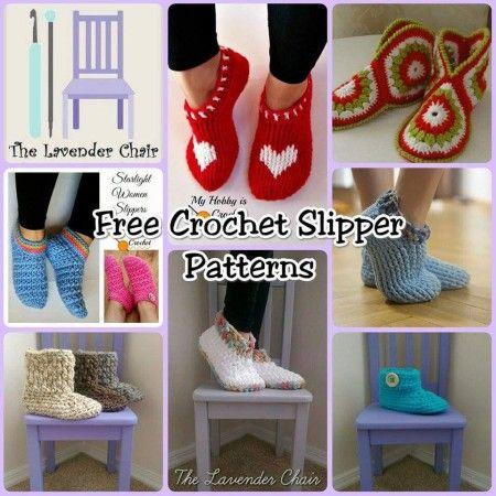 15 Fabulous Free Slipper #Crochet Patterns | STOP searching and START making. CrochetStreet.com