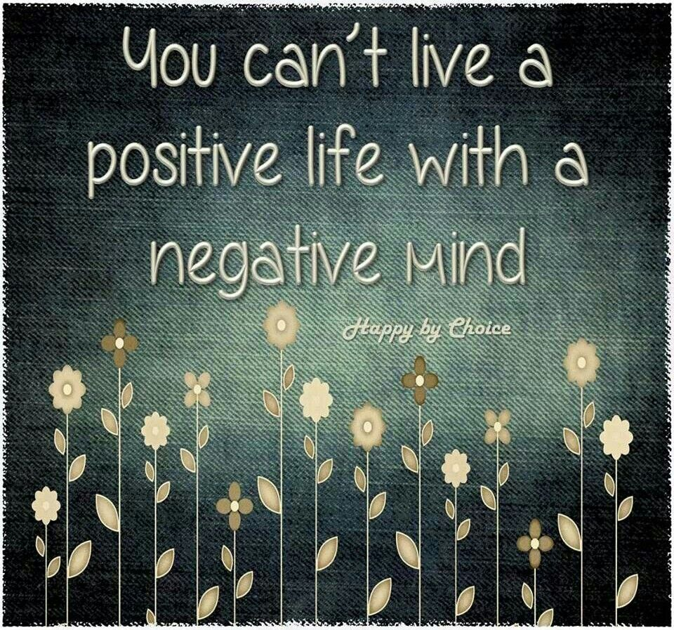 how to become positive minded