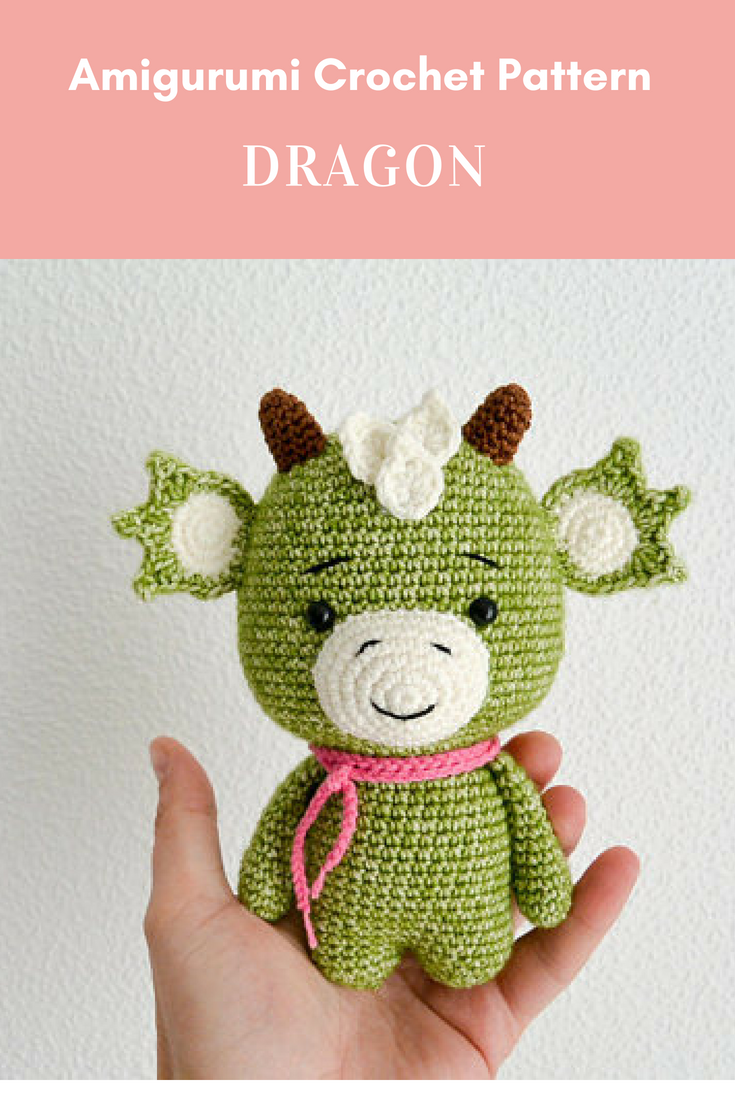 Small But Mighty Dragon Free Crochet Pattern For Your Next Project ... | 1102x735