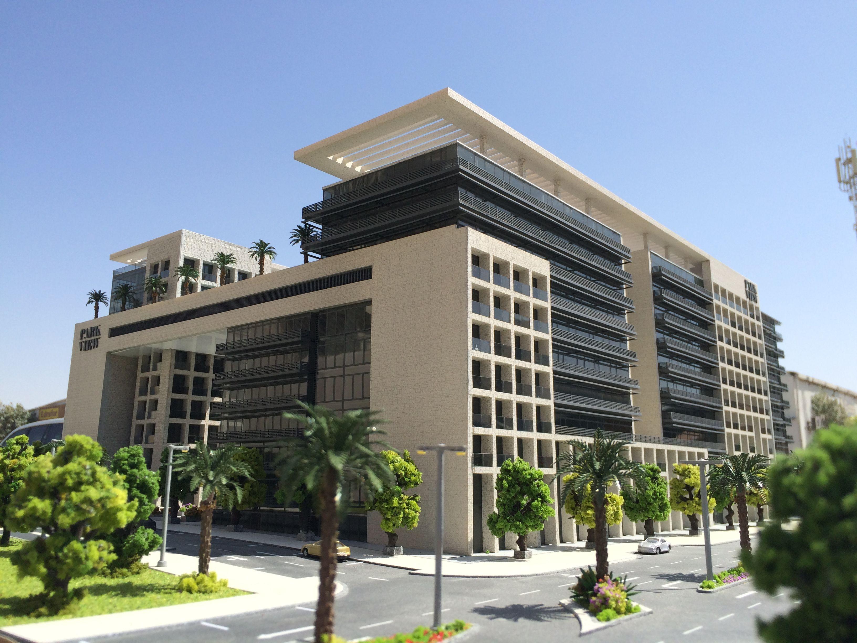 Parkview Apartments Scale 1 150 Architecture Building Exterior