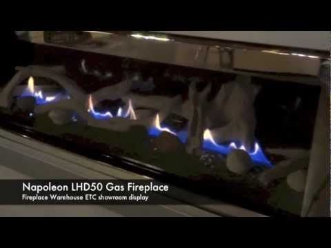 Mike describes some features of the LHD50 Napoleon Linear Gas Fireplace