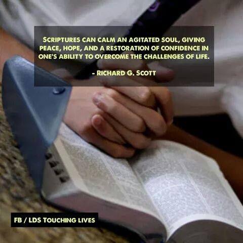 ღ☀ღ Scriptures can calm an agitated soul, giving peace, hope and confidence ღ☀ღ