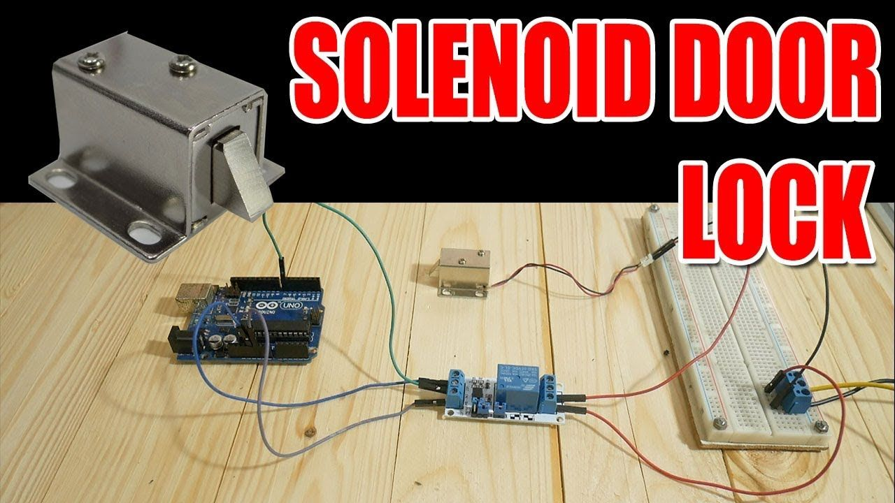 Relay Module Solenoid Door Lock How To Control Them With An Wiring A Arduino