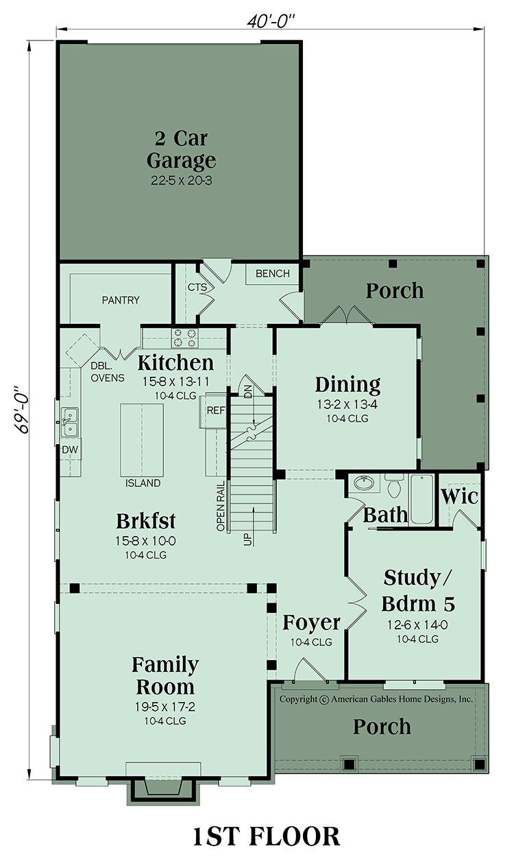 Craftsman Plan 3571 Square Feet 5 Bedrooms 4 Bathrooms Somerset Mansion Floor Plan Floor Plans Traditional House Plans