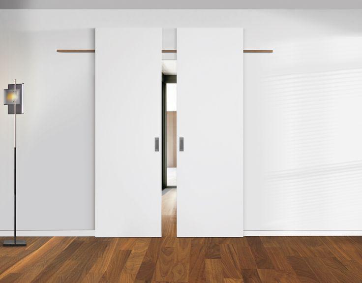 Ideal Room Divider Discreet Sliding Door Without Frame Minihomedeco Online Interior Barn Doors Room Divider Doors Sliding Doors
