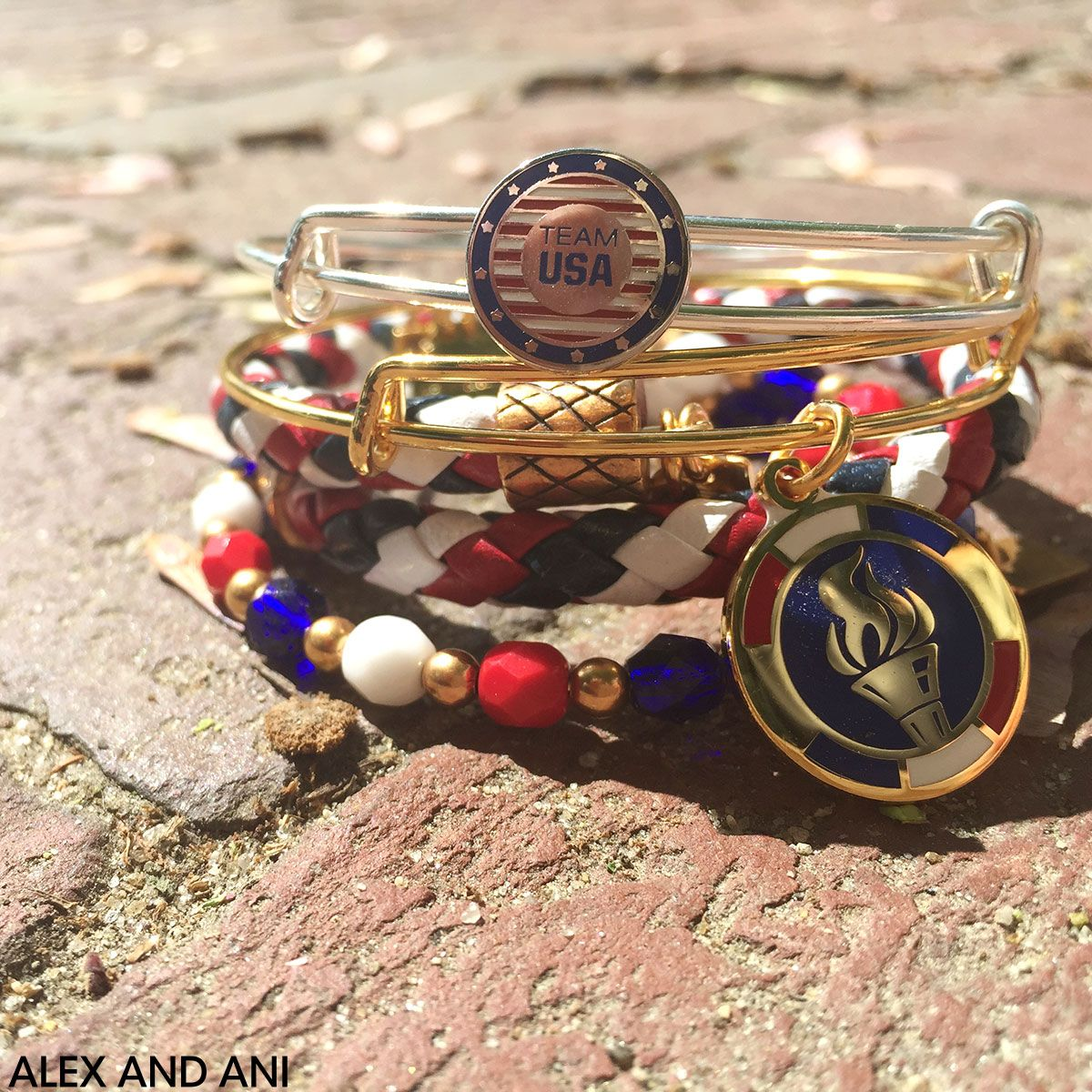 ALEX AND ANI Team USA Collection!