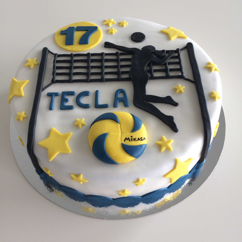 Volleyball Cake In 2020 Kakku Ruoka Lentopallo