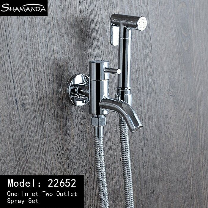 Shipping Brass Chrome Various Style Handheld Bidet W