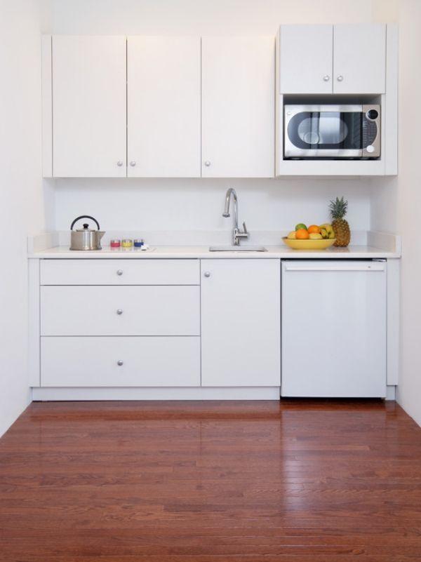 24 Ideen für Küchenzeile mit Elektrogeräten in besonderem Ambiente ...