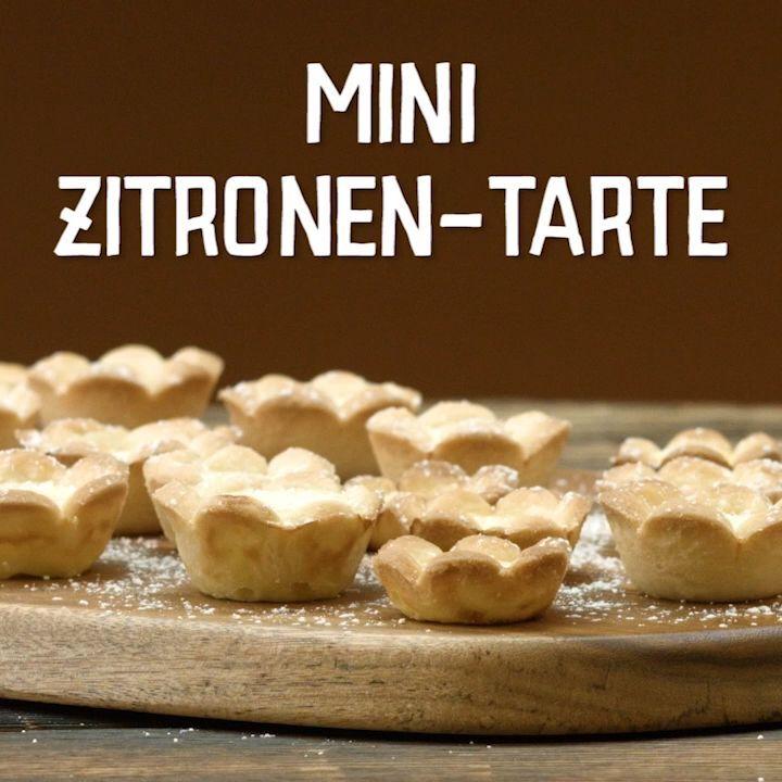Mini Lemon Tartes
