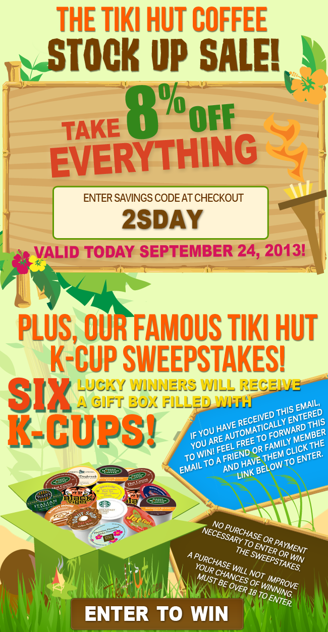 Don T Forget To Take Advantage Of Our 8 Off Everything Is On Until Midnight Tonight Coffee Kcups Coupon