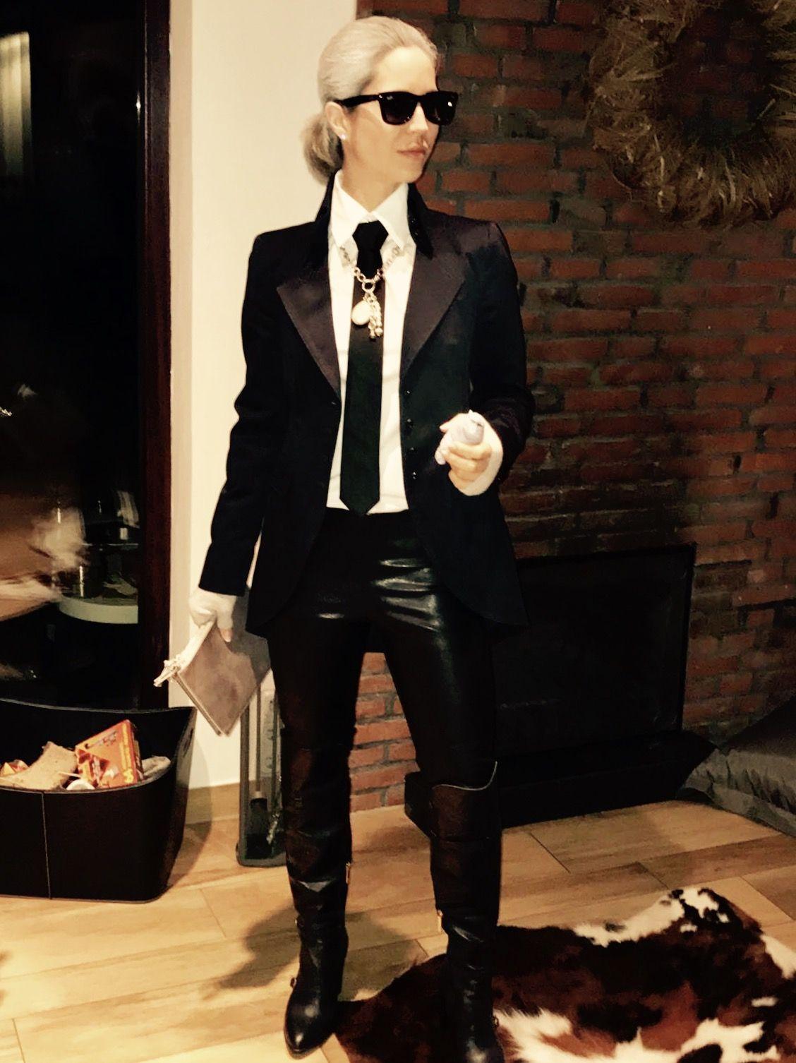 Karl Lagerfeld Kostüm | Kostüm, Fastnacht kostüme, Kostüme