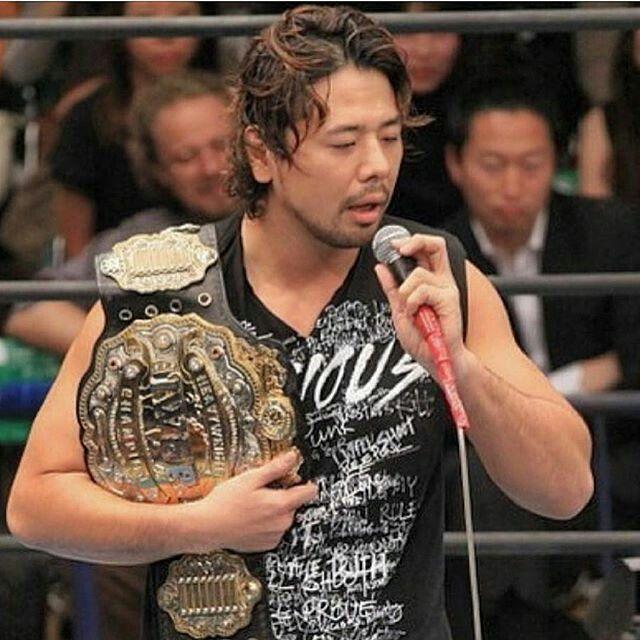 Shinsuke Nakamura IWGP World Heavyweight Champion #NJPW | Japanese wrestling, Japan pro wrestling, Professional wrestling