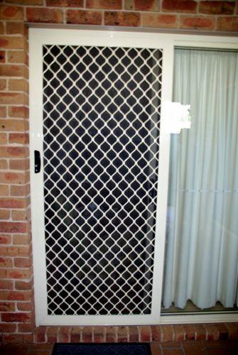 7mm Grill Cullen S Blinds Sliding Screen Doors Screen