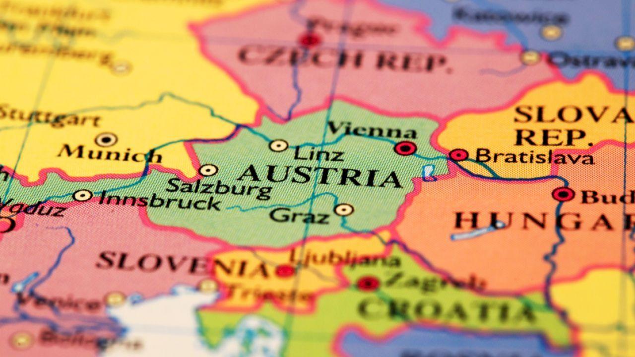 أين تقع النمسا Vienna Austria Linz