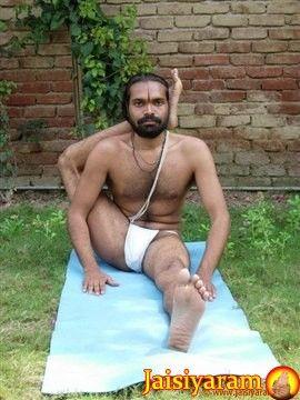 eka pada sirsasana from jaisiyaram » yoga pose weekly