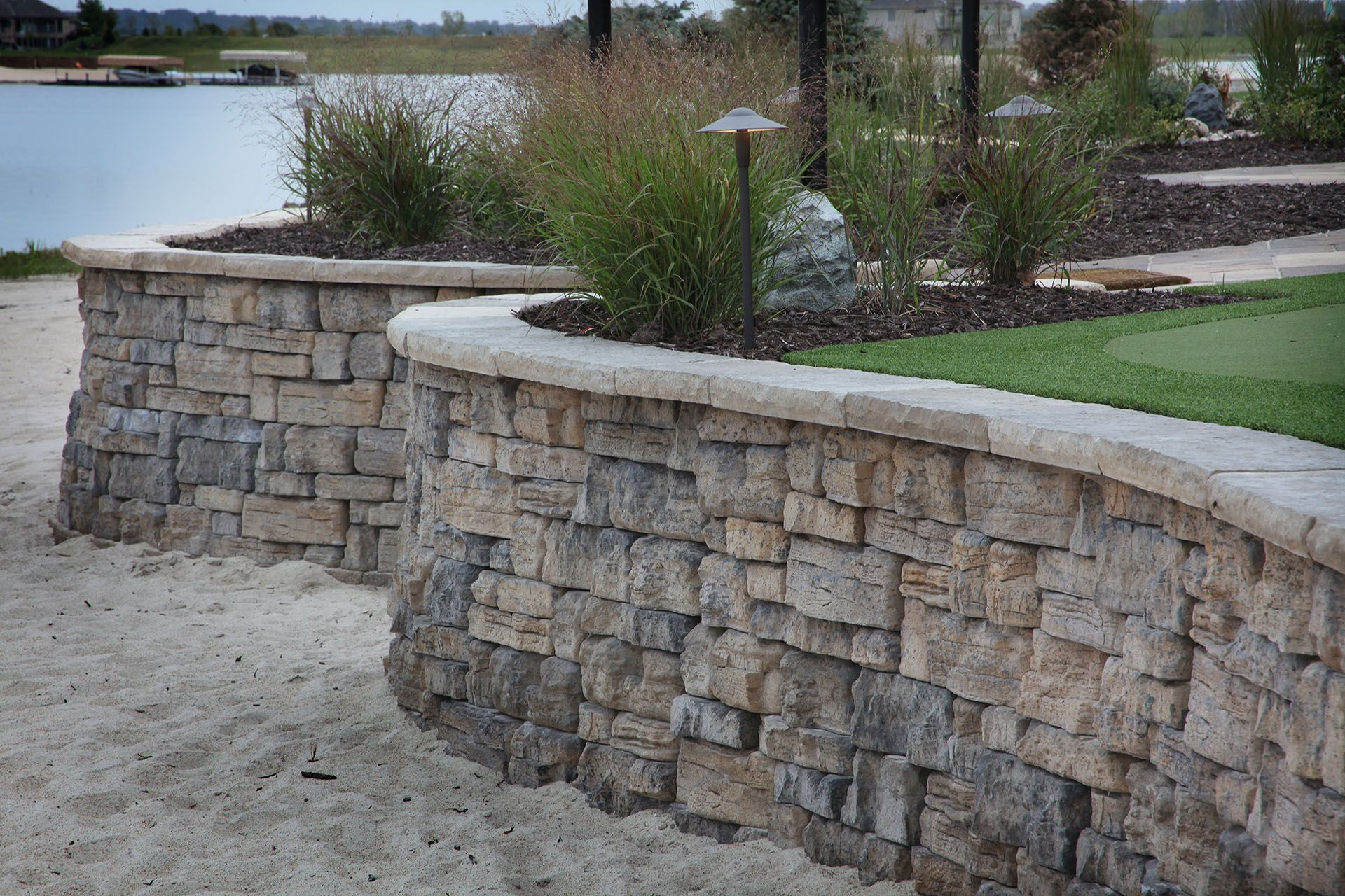 Retaining Walls Project Type Watkins Concrete Block