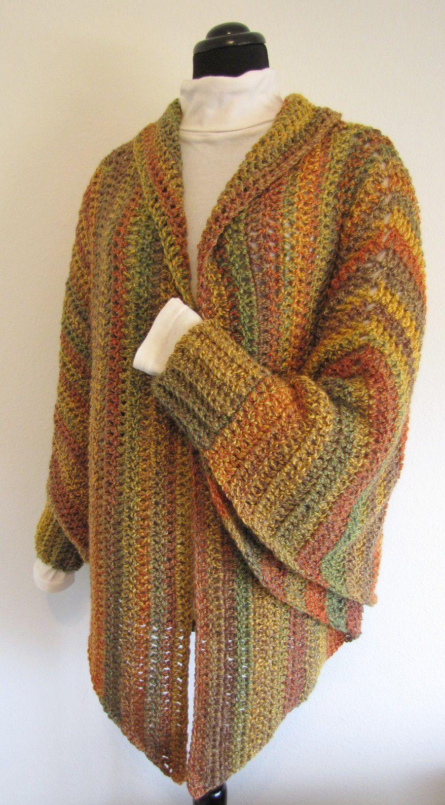 Quick & Easy Cuffed Cape By Elizabeth Ann White - Purchased Crochet ...