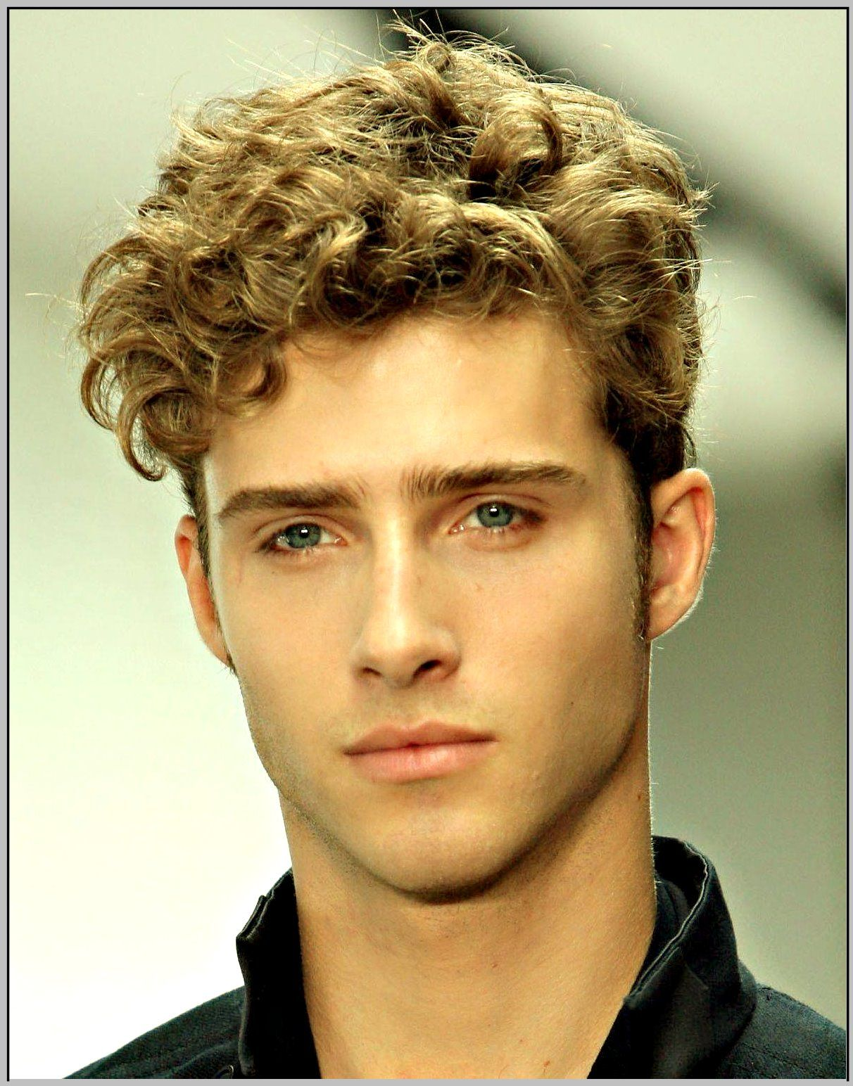 Ponytail Long Hairstyles For Men Curly Hair