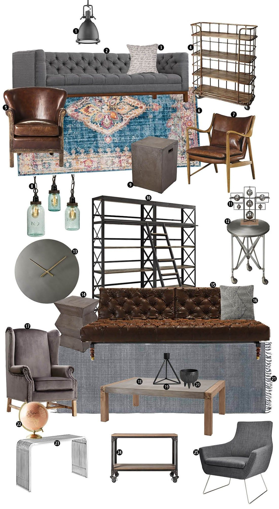 Industrial Decor: Is It Your Signature Style? •Little Gold Pixel