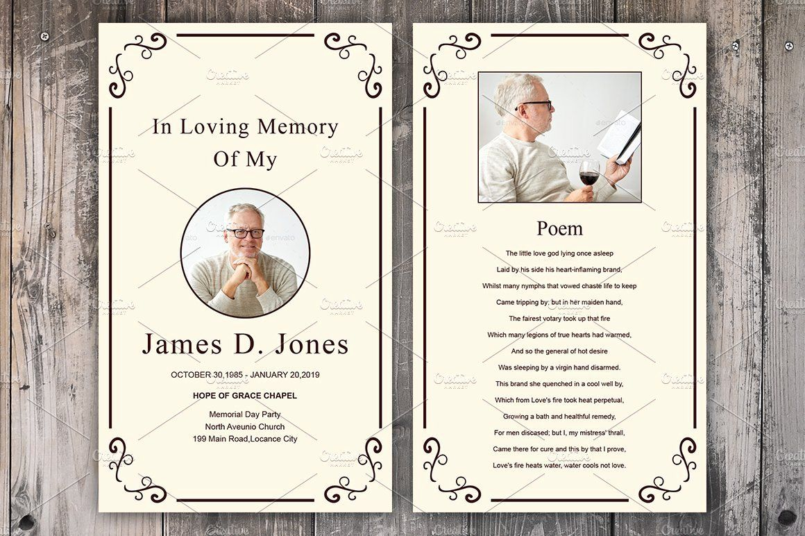 Memorial Cards For Funeral Template Free Best Of Funeral Prayer Card Template Card Templates Creative Memorial Cards For Funeral Funeral Cards Funeral Prayers