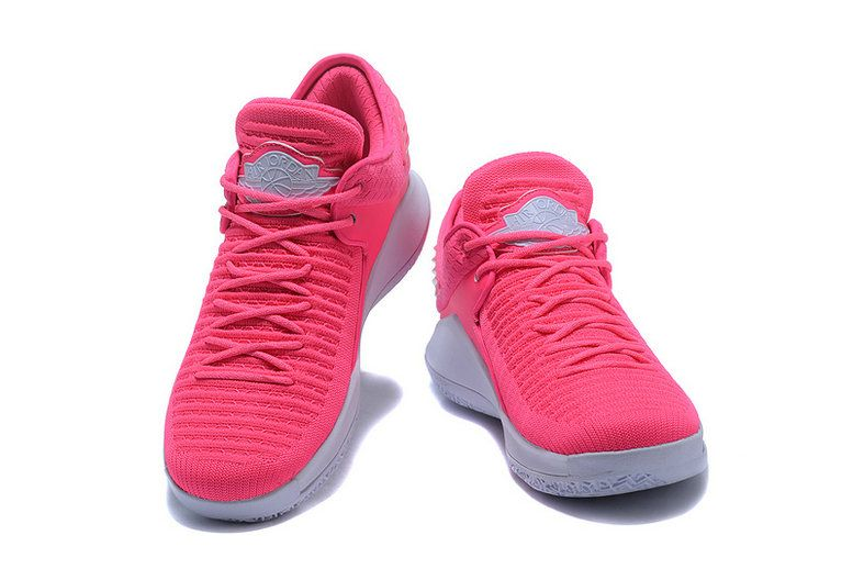 Real Air Jordan 32 Low Hot Pink White