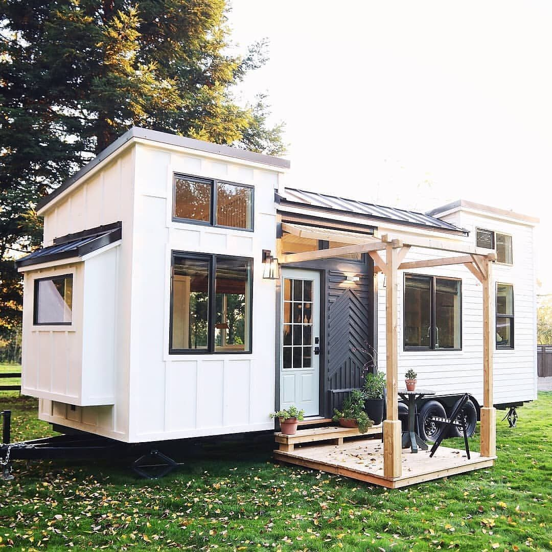 This Tiny House Exterior Is So Beautiful It Looks Like