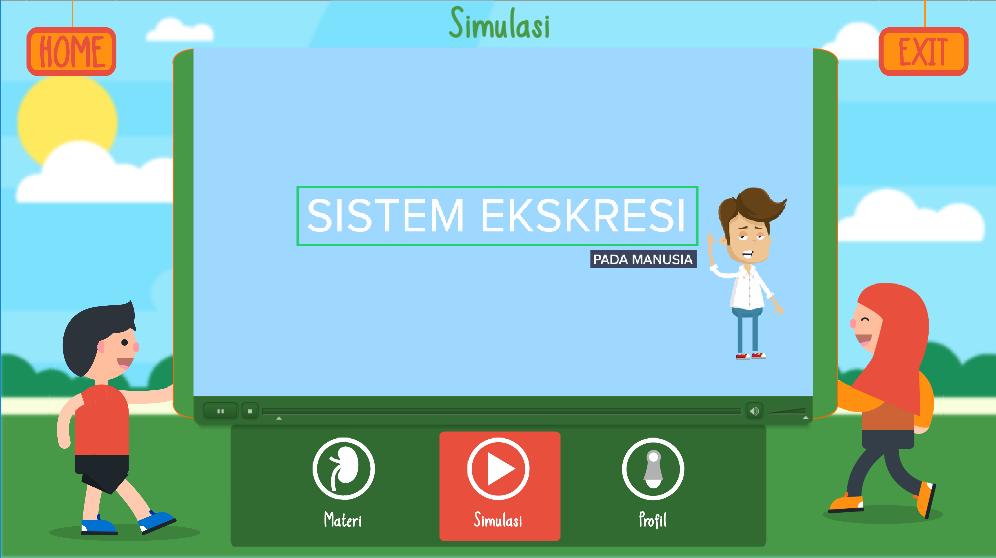 Media Pembelajaran Flash Dan Video Simulasi Sistem Ekskresi Belajar Media Interaktif Desain Pembelajaran