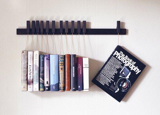 30 estanterías originales para llenar de libros tu casa