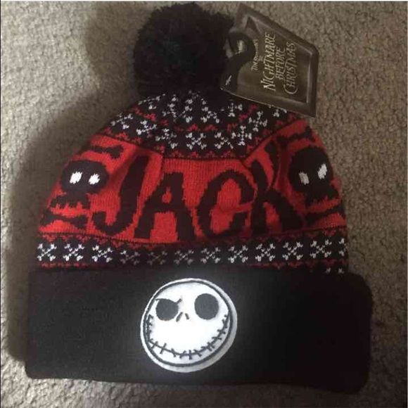Jack SKELLINGTON beanie new with tags Accessories Hats