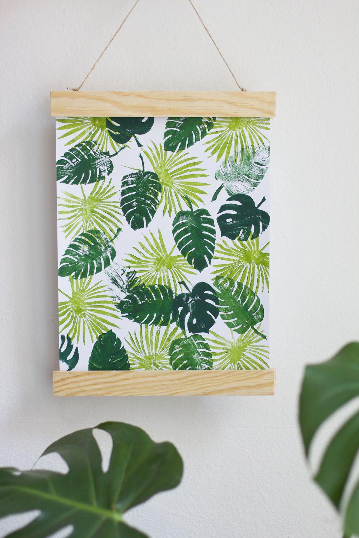 diy stempel selber machen plus freebie diy textile printing pinterest selber machen. Black Bedroom Furniture Sets. Home Design Ideas