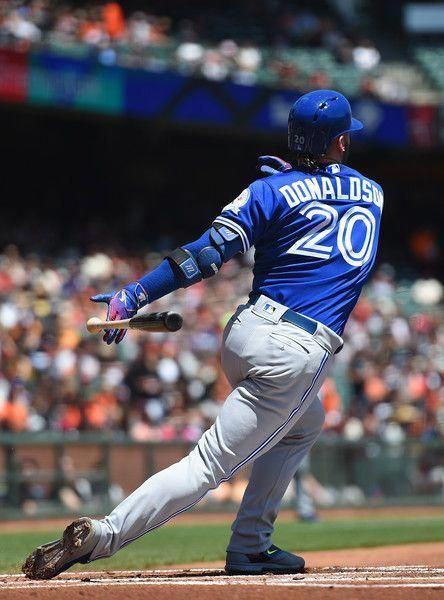 Photo of Josh Donaldson Photos Photos: Toronto Blue Jays v San Francisco Giants
