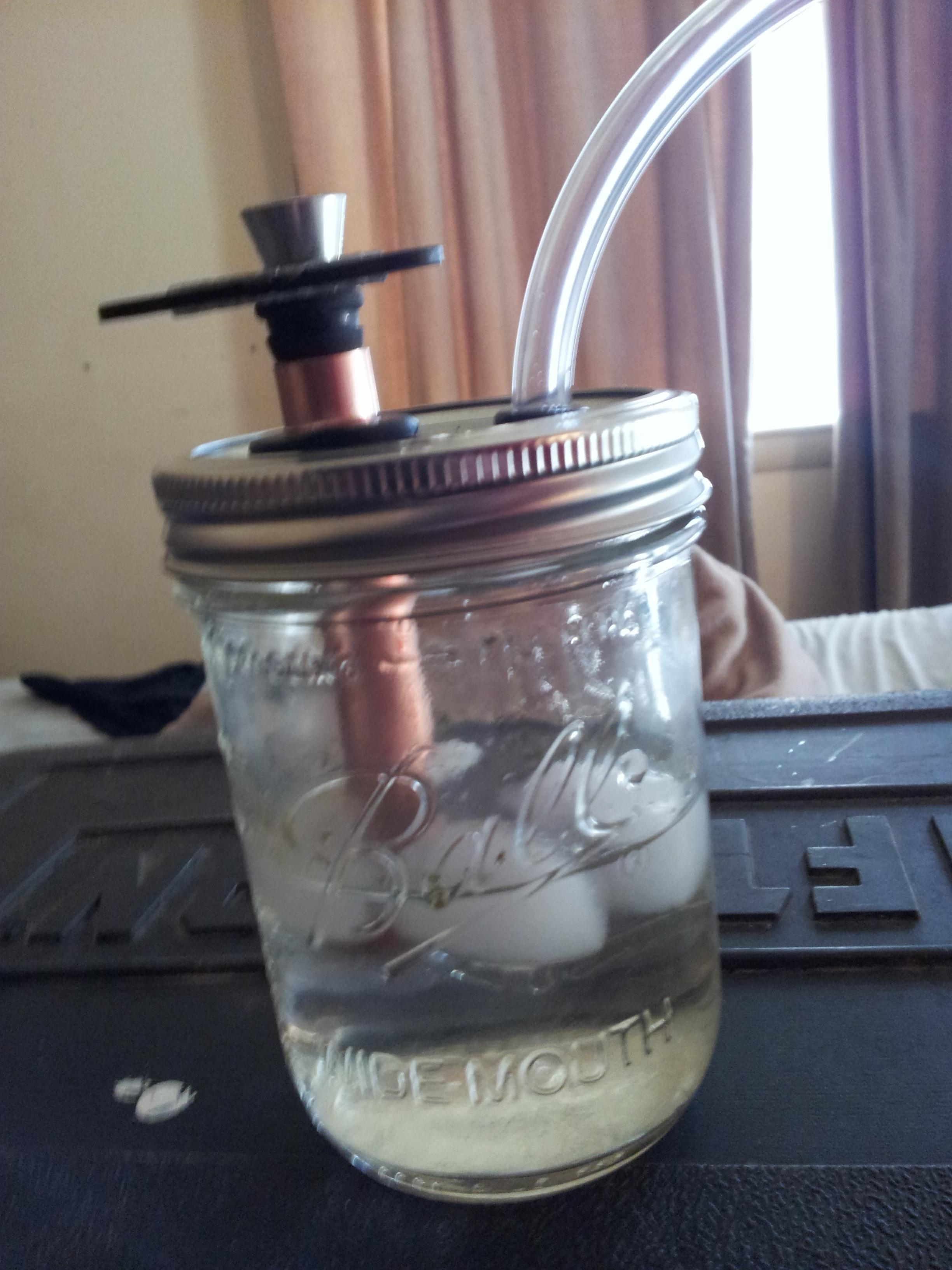 Homemade Mason Jar Bong - ( #marijuana #cannabis ) http ...