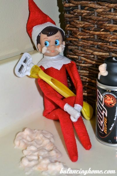 27 Elf on the Shelf Ideas - Balancing Home