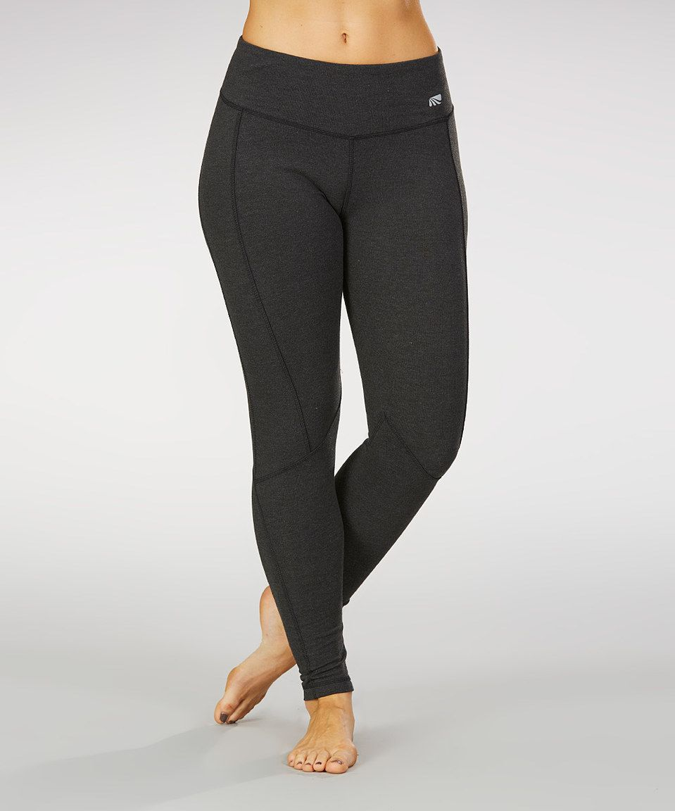 d3d51ec1b1932 Another great find on #zulily! Marika Heather Charcoal Ultimate Slimming  Leggings - Women by Marika #zulilyfinds