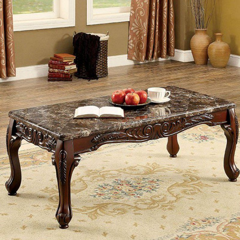 Sherell Traditional 3 Piece Coffee Table Set 3 Piece Coffee