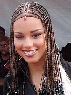 Reflexions Inspirational Afro Hair Braids From Alicia Keys Fashion Friday Alicia Keys Braids Afro Hairstyles Braided Hairstyles