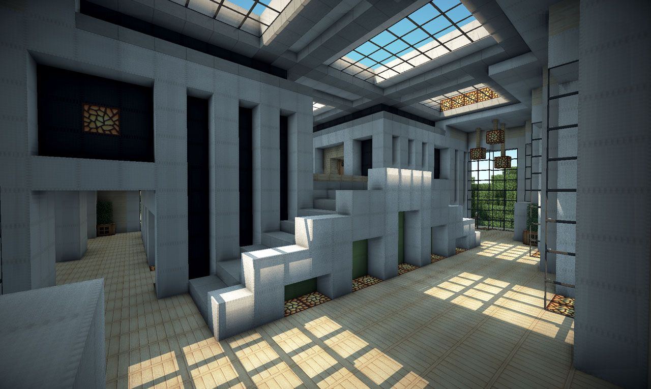 Modern House on World of Keralis Minecraft Project ...