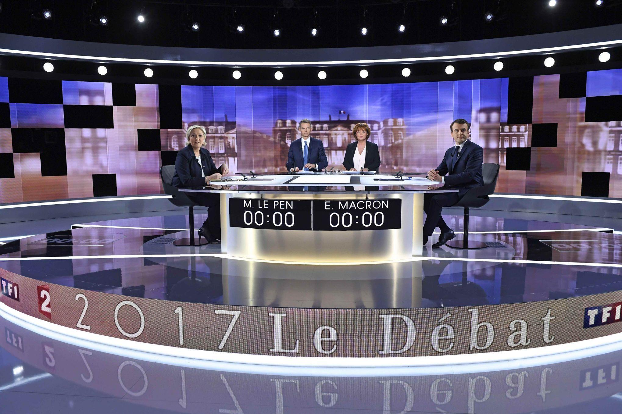 Débat présidentiel les quinze intox de Marine Le Pen et