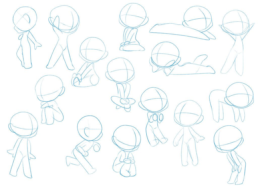 Line Drawing Penguin : Chibi pose dump by pixel penguin da writing art or ocs fandoms