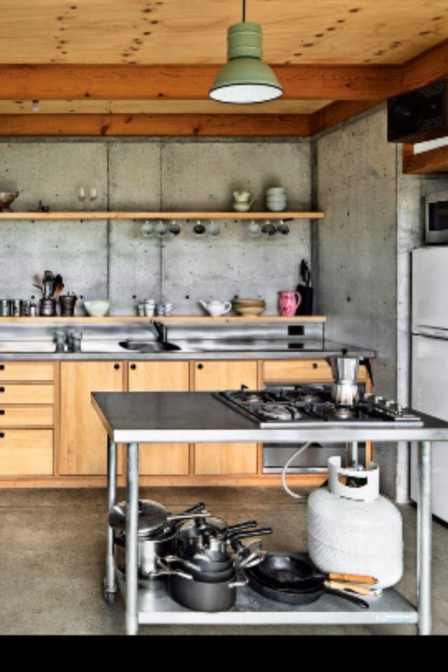 sch ner wohnen home gewerbliche k che k che bauen und. Black Bedroom Furniture Sets. Home Design Ideas