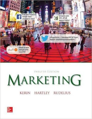 Marketing 12th Edition A Marketing Business Pdf Book Authored By