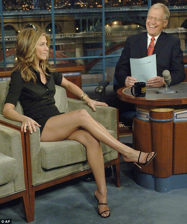 Dad cum jennifer aniston sexy legs fuck boob sucking