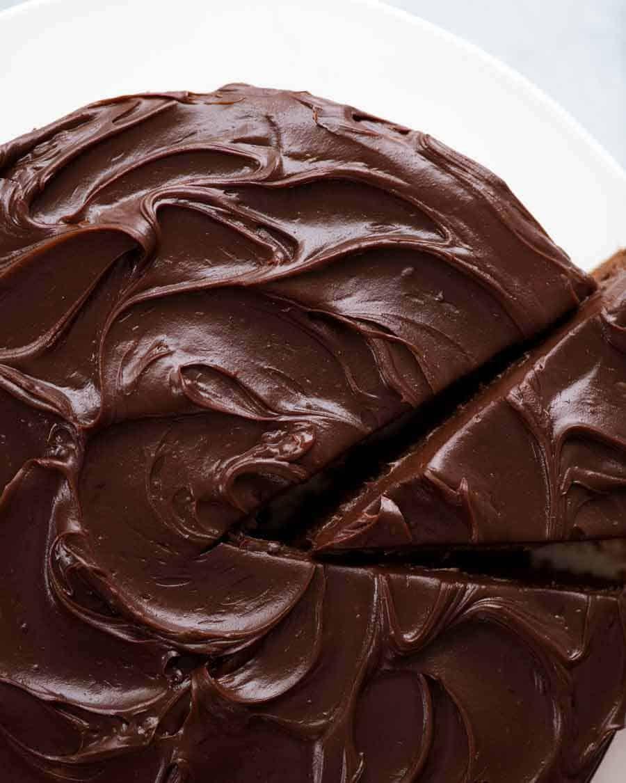 Easy Chocolate Fudge Cake Recipe Easy Chocolate Fudge Cake Fudge Cake Recipe Easy Chocolate Fudge