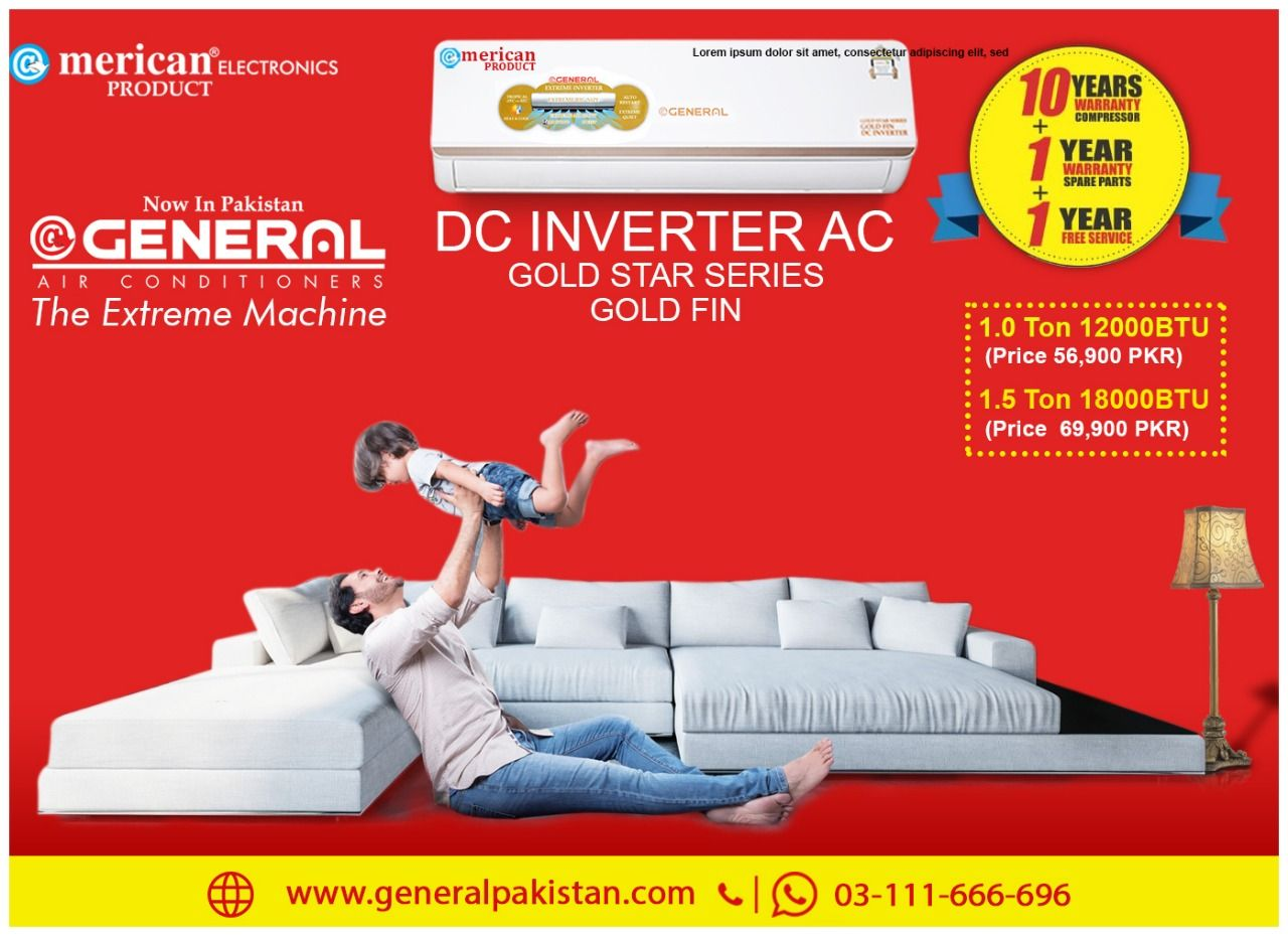 Best Split And Inverter Prices In Pakistan Ac price