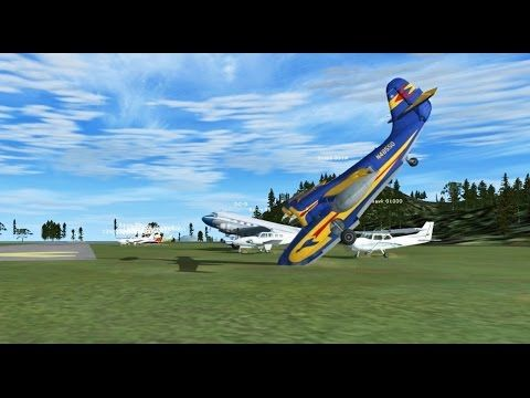 FSX Multiplayer Chaos: SABA Airport Overloaded with Planes