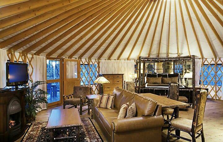 Shenandoah Crossing 2 Bedroom Yurt