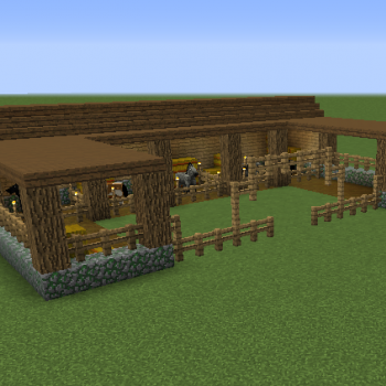 Stable Blueprints for MineCraft Houses Castles Towers and more