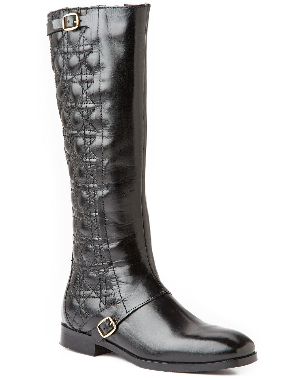 "Spotted this Catherine Catherine Malandrino ""Ava"" Leather Tall Boot on Rue La La. Shop (quickly!)."